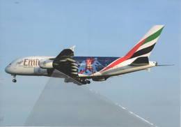 Emirates Airlines S/s La Dodgers Dubai A380-861 A6-EON At FRA - 1946-....: Era Moderna