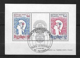 France Bloc Feuillet De 1982 N°8  Oblitéré - Blocs & Feuillets