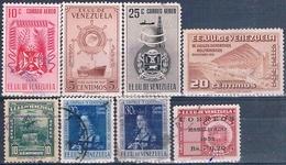 Venezuela 1947 / 52  -  Michel  230 / 331 + 360 / 61 + 370 + 372 + 380 + 402  ( Usados ) - Venezuela