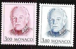 1996Monaco2302-2303Prince Rainier III2,00 € - Monaco
