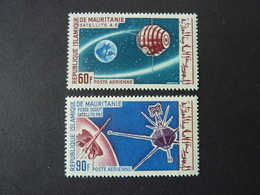MAURITANIE, Poste Aérienne, Année 1960, YT N° 49 Et 50 Neufs MNH** - Mauritanie (1960-...)