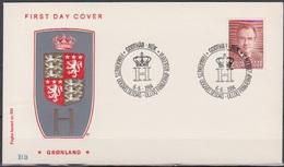 Grönland 1984 FDC Nr.151 50.Geb. Prinz Henrik ( D 6350) Günstige Versandkosten - FDC