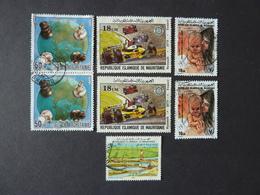 MAURITANIE, Lot De 7 Timbres Oblitérés - Mauritanie (1960-...)