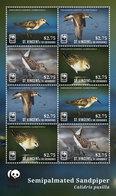 St Vincent 2014 - Faune En Danger, Oiseaux, Wwf - Feuillet Neuf // Mnh - St.Vincent & Grenadines