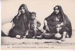 EGYPTE - EGYPTIAN TYPES AND SCENES - Fellah's Women - Ägypten