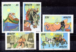 Serie De Malta N ºYvert 1046/50 ** - Malta