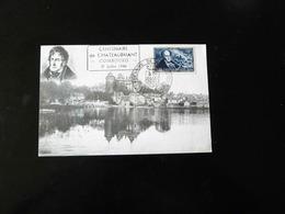 CACHET COMMEMORATIF  -  CENTENAIRE DE CHATEAUBRIANT   -  1948  - - Postmark Collection (Covers)