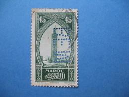 Perforé Perfin Maroc, Perforation :   BEM 6   à Voir - Morocco (1891-1956)