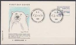 Grönland 1984 FDC Nr.147 Kunst ( D 6348) Günstige Versandkosten - FDC