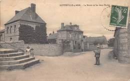 SOTTEVILLE SUR MER - La Mairie Et Les Deux Ecoles - Sonstige Gemeinden