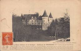 CHATEAU DE BRIDOIRE - FACADE NORD OUEST - France