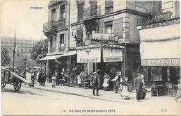PARIS: LA RUE DE LA ROQUETTE - France
