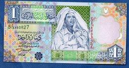 Libye-  1 Dinar -  Pick # 68  - état  UNC - Libia