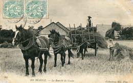 En Beauce  La Rentée Du Grain     659 - Frankrijk