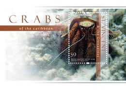 St Vincent 2013 - Faune Marine, Crabes - BF Neuf // Mnh - St.Vincent & Grenadines