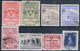 Venezuela 1951 / 58  -  Michel   372 + 559  +  AEREOS  361 + 559 + 582 + 583 + 593 + 637    ( Usados ) - Venezuela