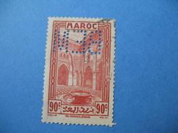 Perforé Perfin Maroc, Perforation :   BEM 6   à Voir - Maroc (1891-1956)