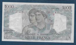 BILLET De  1000 F  Minerve Et Hercule  Du  15 - 7 - 1948 - 1871-1952 Antichi Franchi Circolanti Nel XX Secolo