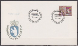 Grönland 1984 FDC Nr.152  250 Jahre Stadt Christianshab ( D 6345) Günstige Versandkosten - FDC