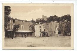 Montfrin , La Grande Place Et Le Chateau - France