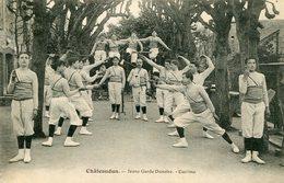 CHATEAUDUN = Jeune Garde Dunoise ESCRIME  661 - Chateaudun