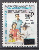 Madagascar Used Overprinted Stamp Michel 2519 - Madagascar (1960-...)