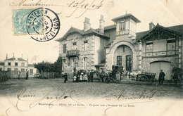 MAINTENON  = Hotel De La Gare Facade Sur L'avenue    662 - Maintenon