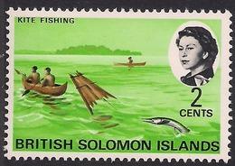 British Solomon Islands 1968 QE2 2ct Kite Fishing Umm SG 167 ( L1063 ) - British Solomon Islands (...-1978)