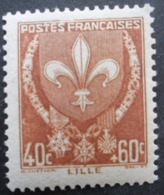 FRANCE Armoirie De Lille N°527 Neuf ** - 1941-66 Wappen