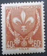 FRANCE Armoirie De Lille N°527 Neuf ** - 1941-66 Wapenschilden