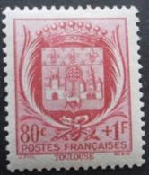 FRANCE Armoirie De Toulouse N°530 Neuf ** - 1941-66 Wapenschilden
