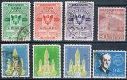 Venezuela 1955 / 62  -  Michel   523 + 526 + 581  +  AEREOS  641 + 690 + 693 + 699 + 701    ( Usados ) - Venezuela