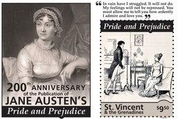 St Vincent 2013 - Littérature, Jane Austen's I - BF Neuf // Mnh - St.Vincent & Grenadines