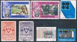 Venezuela 1955 / 77  -  Michel   581 + 908 + 926 + 981 + 1009 + 1021    ( Usados ) - Venezuela