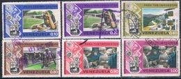 Venezuela 1974  -  Michel   908 + 910 + 914 + 922 + 924 + 926    ( Usados ) - Venezuela