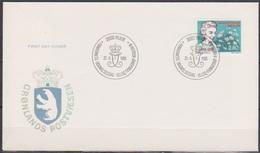 Grönland 1985 FDC Nr.159  50.Jahrestag Der Ankunft Von Königin Ingrid In Dänemark ( D 6138 ) Günstige Versandkosten - FDC
