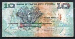 622-Papouasie-Nouvelle-Guinée Billet De 10 Kina 1988 NDC887 Sig.5 - Papouasie-Nouvelle-Guinée