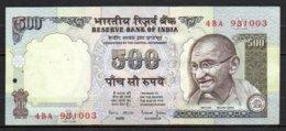Inde Billet De 500 Rupees 1997 4BA931 Sig.88 - Inde