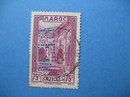 Perforé Perfin Maroc, Perforation :   BEM 7   à Voir - Marokko (1891-1956)