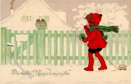 Baumgarten, Fritz Kind Schwein Weihnachten I-II Noel Cochon - Baumgarten, F.