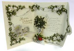 Glückwunsch Kulissenbild Kartenbrief I-II - Baumgarten, F.