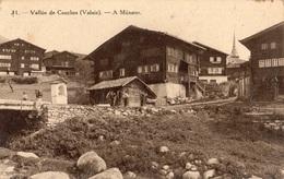 VALLEE DE CONCHES (VALAIS) A MUNSTER - VS Valais