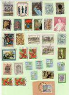N. 33 Francobolli Usati Repubblica - 6. 1946-.. Repubblica