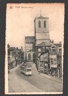 Liège - Basilique St-Martin - Tram / Tramway - éd. Heineen, Tabacs - Luik