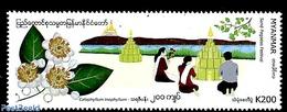 Myanmar/birma 2019 Sand Pagodas Festival 1v, (Mint NH) - Myanmar (Burma 1948-...)