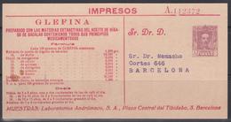 Laboratorios Andrómaco, S.A., Tarjeta Postal Iniciativa Privada. - Cartas