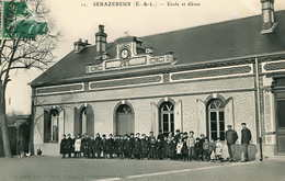 SERAZEREUX    = Ecole Et Elèves  671 - Other Municipalities