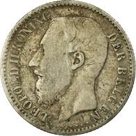 Monnaie, Belgique, Leopold II, Franc, 1886, TB, Argent, KM:29.1 - 07. 1 Franc