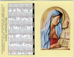 CALENDARIETTO 2018 CAPELLANO DEI CARABINIERI  Immagine Della Madonna  Preghiera Del Carabiniere Bilingue Bolzano - Calendari
