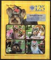 St Vincent 2009 - Petits Chiens, Yorkshire Terrier - BF 4 Val Neuf // Mnh - St.Vincent & Grenadines